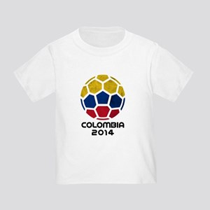 Colombia World Cup 2014 Toddler T-Shirt